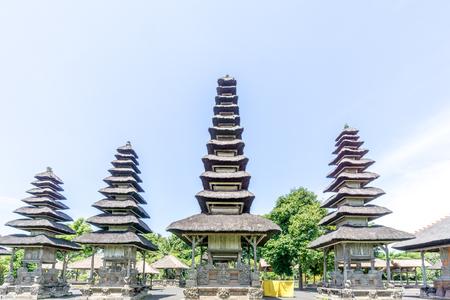 Bali, Indonesia - December 23, 2016: Pura Taman Ayun Temple in Bali, Indonesia. Stock Photo