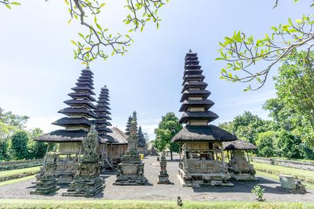 Bali, Indonesia - December 23, 2016: Pura Taman Ayun Temple in Bali, Indonesia. Editorial