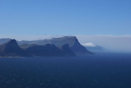 View from cape point SA photo