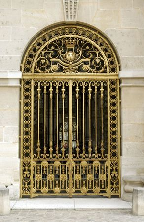 versailles: Versailles golden gates. France Stock Photo