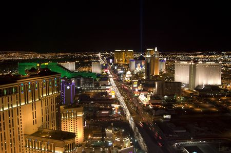 Las Vegas Strip at the night