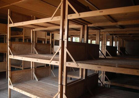 bunkbed: Dachau barrack
