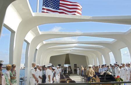 Uss Arizona Memorial. Picture taken December 7 2005