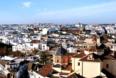 carmona: View of Carmona, Spanish white hill town