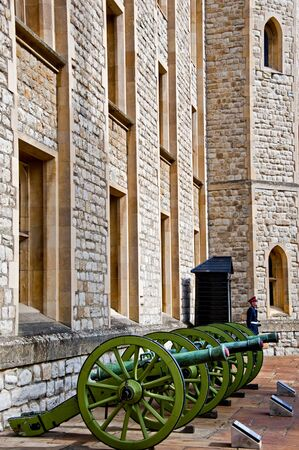 guard house: guard at the Jewel House in the Tower of London.