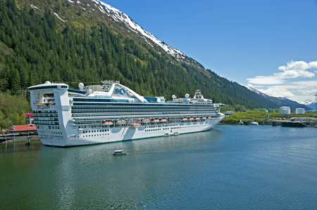 Juneau Port in Alaska