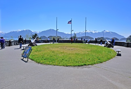 Baranof Castle, Sitka, Alaska 新聞圖片
