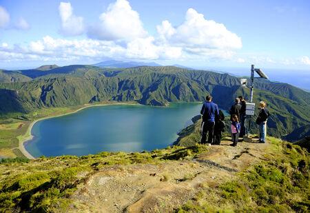 stratovolcano: Lagoa do Fogo, San Miguel