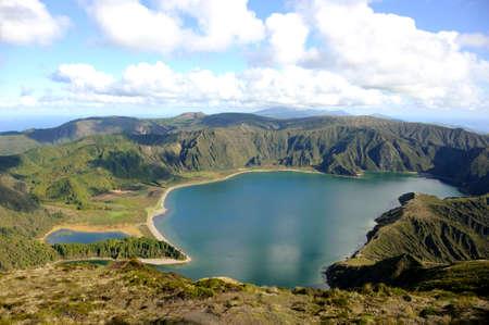 stratovolcano: Lagoa do Fogo, San Miguel, Azores