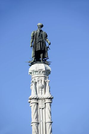Statue von Afonso de Albuquerque, Lissabon