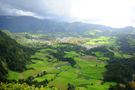 agriculture azores: Island of San Miguel Azores