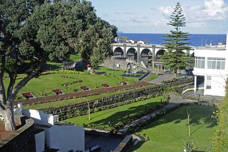 grande: Ribeira Grande Sao Miguel Azores Stock Photo