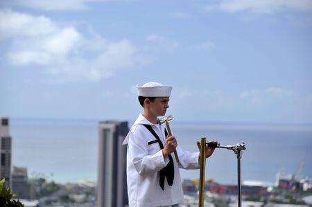honolulu: Concert in Punch Bowl Cemetery, Honolulu