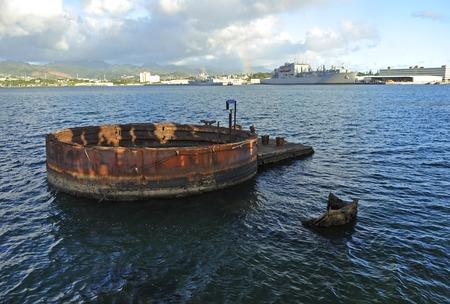 U.S.S. Arizona, Pearl Harbor Stock Photo - 45176247