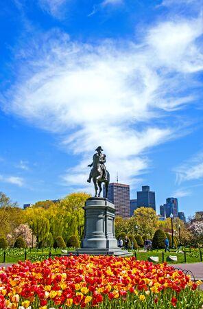 george washington statue: Boston Public Garden Editorial