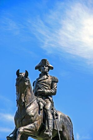 george washington: George Washington Statue, Boston Common