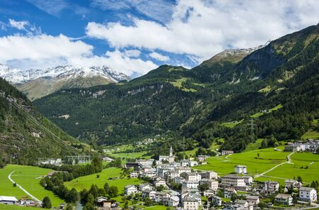 swiss culture: In Swiss Alps