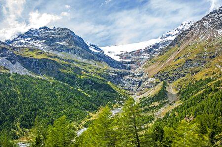 swiss alps: Swiss Alps, Bernina Pass