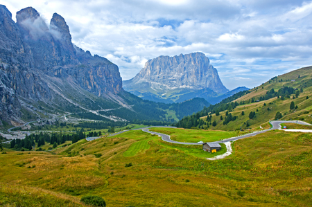 The Great Dolomite Road, Italy