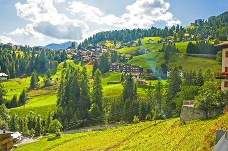 dolomite: The Great Dolomite Road in Italian Alps