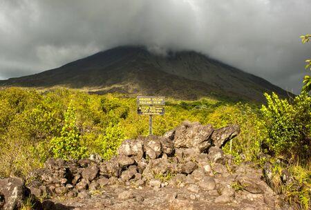 fortuna: Arenal Volcano Stock Photo