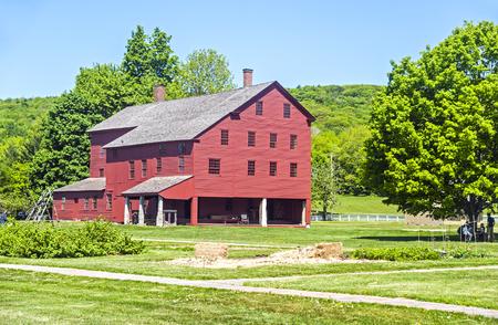 Communal dwelling house in the Shaker Village, western Massachusetts