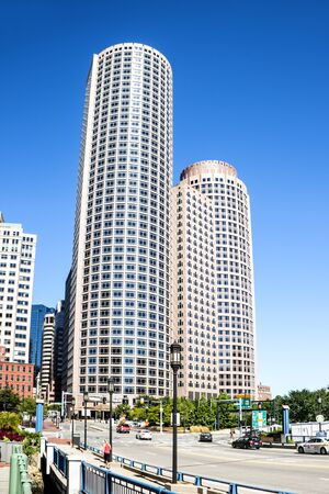 highriser: Skyscrapers in the Boston Business District