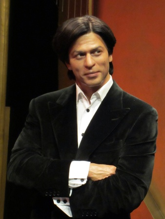 bollywood: Shahrukh Khan in Madmae Tussauds Londen Stockfoto