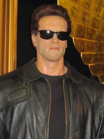 terminator: Arnold Schwarzenegger as Terminator in Madame Tussauds London