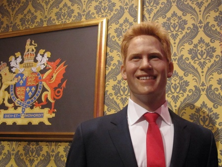 harry: Prince Harry in Madame Tussauds London