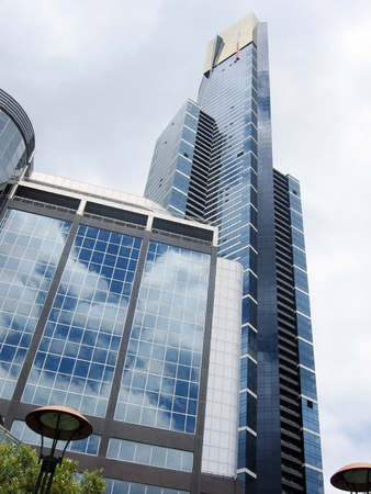southbank: Eureka Tower Melbourne Australia Stock Photo