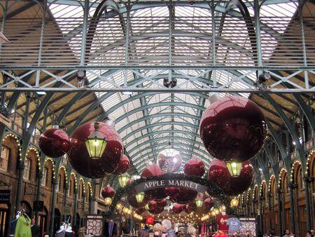 covent: Covent Garden Market, London, England Stock Photo