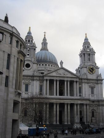 st  paul   s cathedral: St Paul s Cathedral, City of London, England Stock Photo