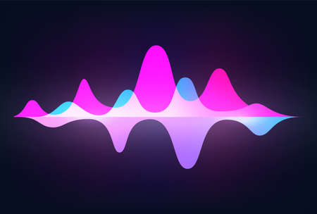Spectrum sound wave. Frequency abstract soundtrack waveform. Voice graph signal. Minimal audio tracks with peaks. Isolated horizontal equalizer indicators. Vector digital tune record