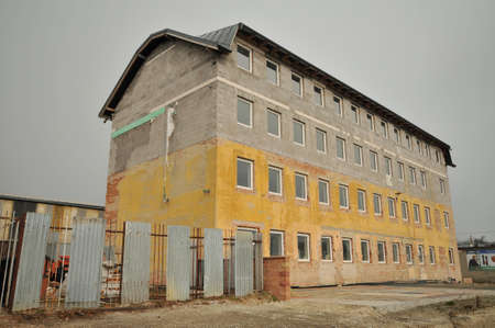 old office: Reconstruction of old office building in Sabinov.