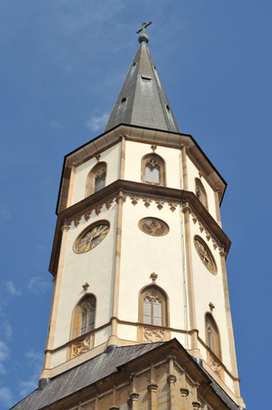 Details if St James Church in centre of Levoca.