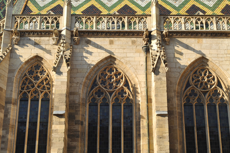stephen: Wien detail of St Stephen cathedral. Stock Photo