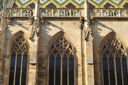 wien: Wien detail of St Stephen cathedral. Stock Photo