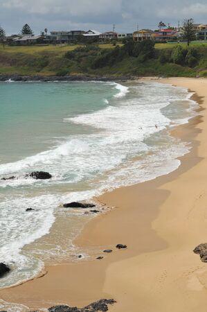 kiama: A sand and rock beach in Kiama.