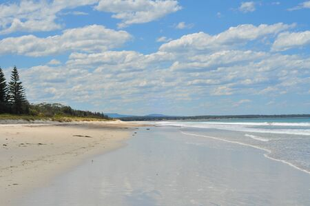 kiama: A long white sand beach in New South Wales.