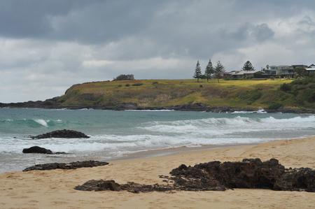 kiama: Kiama coast in New South Wales. Stock Photo