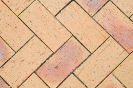 porous brick: Close up of pavement prick slabs pattern.