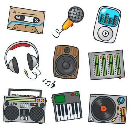 speaker box: conjunto de m�sica