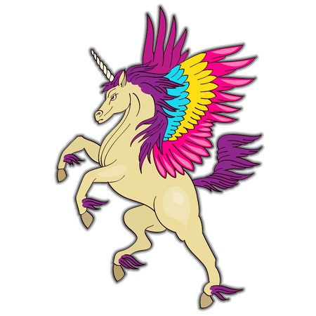 pegaso: Unicornio