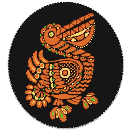 peony black: Russian culture Pelican