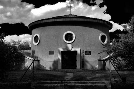mausoleum: picutre of a mausoleum Stock Photo