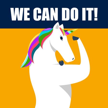 we can do it unicorn version