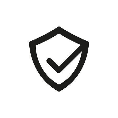 Abstract Sign of True Security. Isolated Vector Illustration