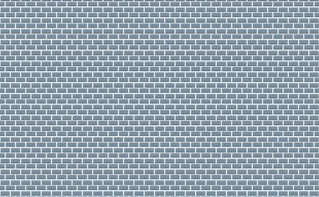 White Brick Stonewall. Square oriented. Vector Illustration