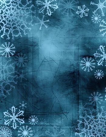 つらら: 絞り染めのファッションで織り目加工の背景を持つ冬フレーム